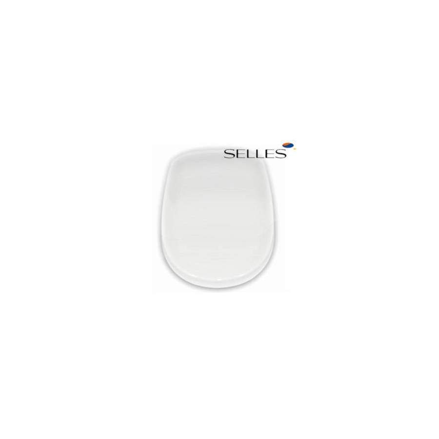 Abattant selles marly 1 blanc fixation horizontale 00100861 - Abattant wc taille non standard ...