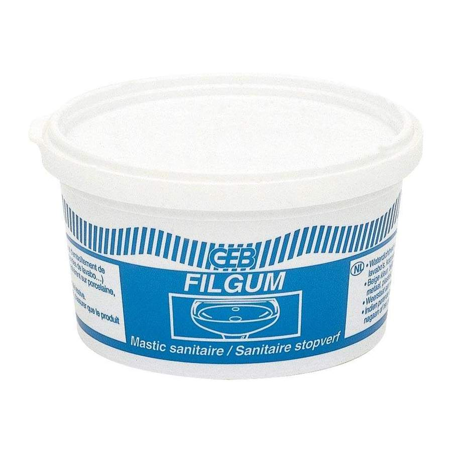 filgum mastic d 39 tanch it pour bonde pot de 500g. Black Bedroom Furniture Sets. Home Design Ideas