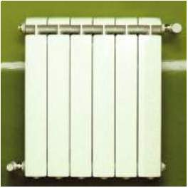Radiateur fonte alu global for Radiateur pour chauffage central vip global