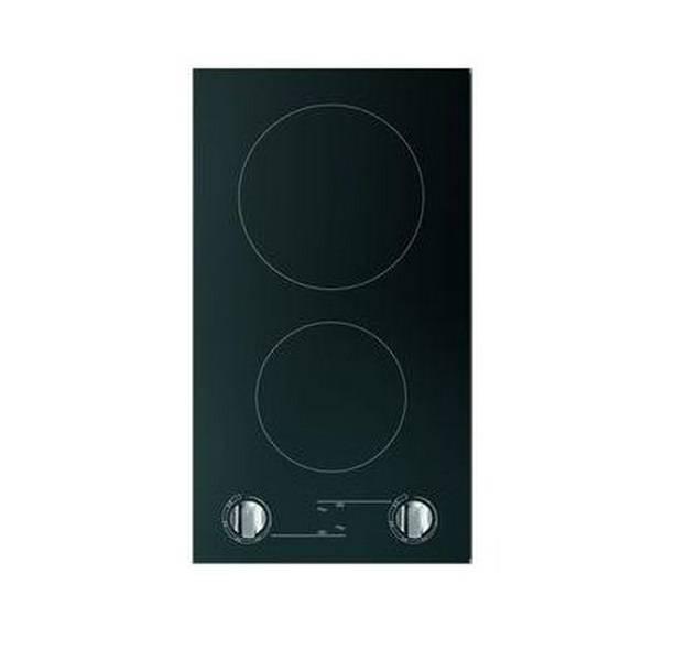 plaque vitroc ramique 2 feux radians sensitives noir 286x506. Black Bedroom Furniture Sets. Home Design Ideas