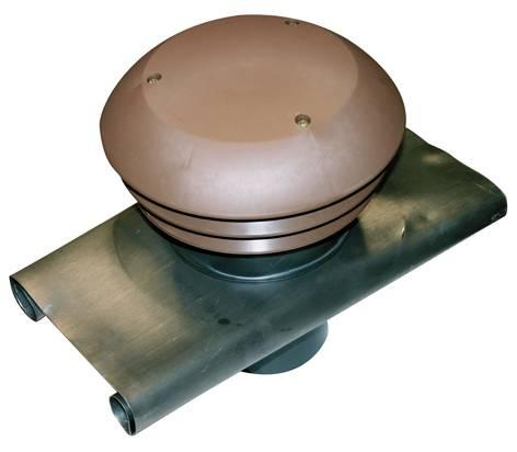 Chapeau de toiture rond diamètre 125mm