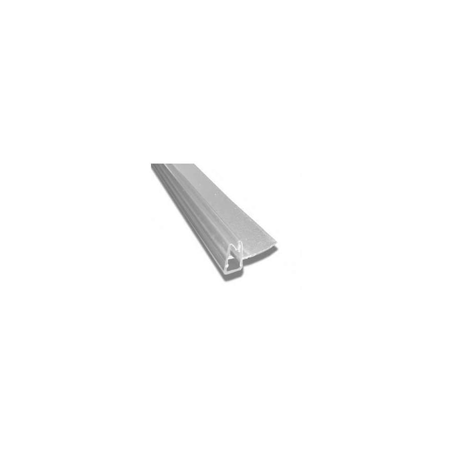 Joint vertical pour cabine de douche entre pan fixe et porte