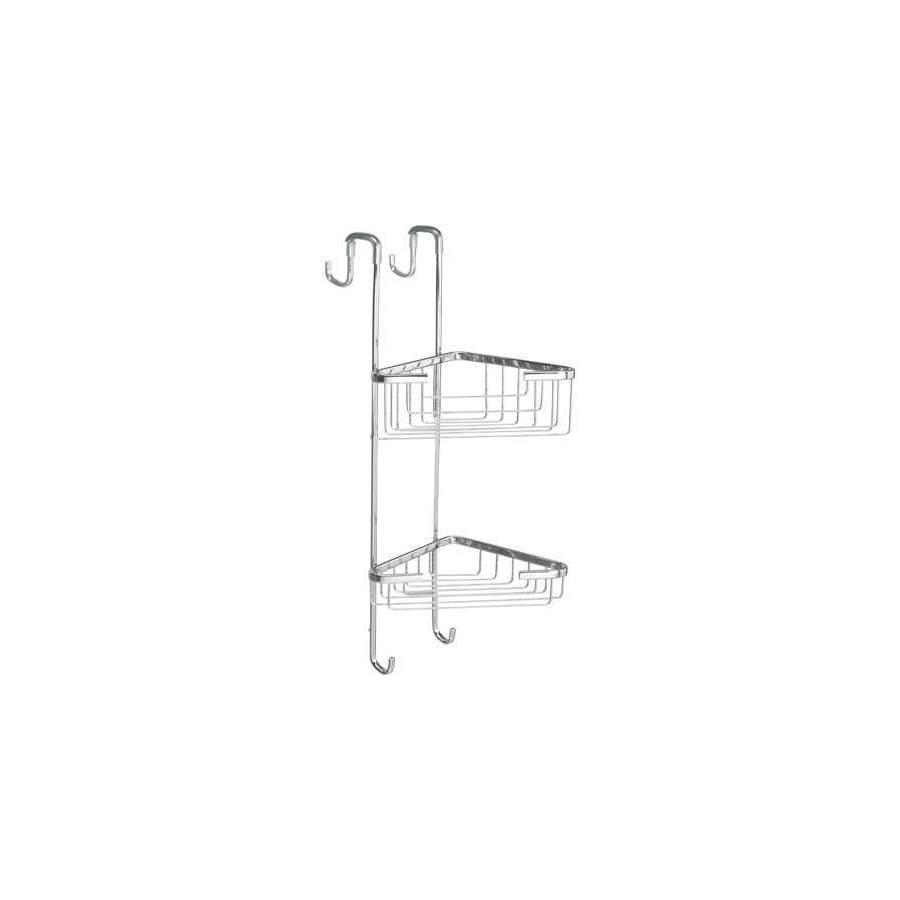porte objets d 39 angle 2 bacs pour cabine de douche. Black Bedroom Furniture Sets. Home Design Ideas