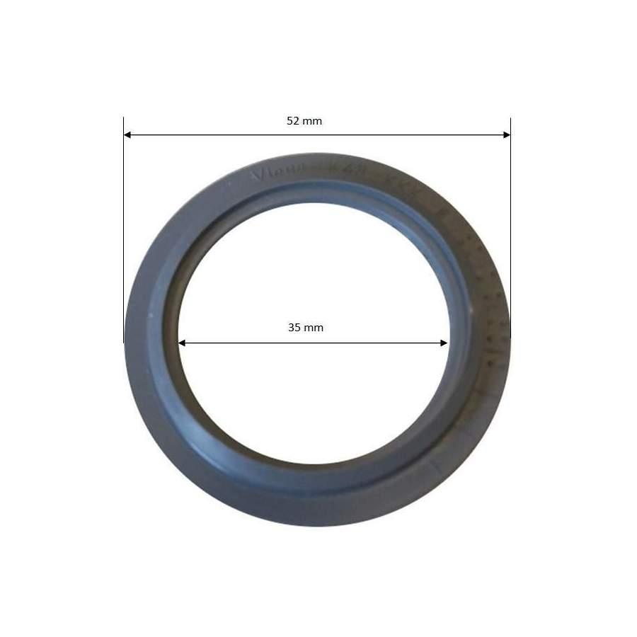 joint 53 mm pour clapet grille. Black Bedroom Furniture Sets. Home Design Ideas