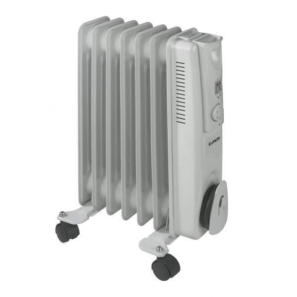 Radiateur mobile à bain d'huile 1500W