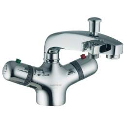Mitigeur Bain Douche Thermostatique Monotrou