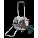 Dévidoir en métal sur roues AQUAROLL EASY, pour tuyaux 60m, 15mm