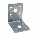 Equerre d'assemblage acier galvanisé 60x60x45 ep. 2.5mm
