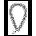 Chaine-antivol LOOPS, longueur 0.60m, diamètre 6mm