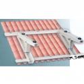 Support toiture pour groupe extérieur maxi 150kg