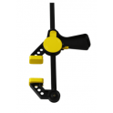 Serre joint automatique avec pince nylon, capacité 150 mm