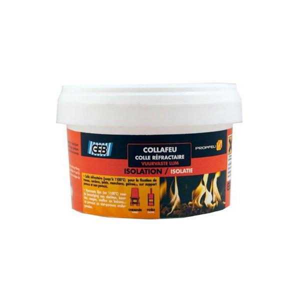Collafeu : colle pour produit réfractaire, pot d 300g