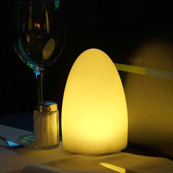 8 lampes de table sans fil bullit led multicouleur - Lampe de table led sans fil ...