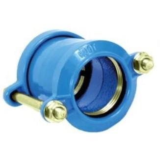 Jonction autobloquée pour tube PE et PVC D.63 mm
