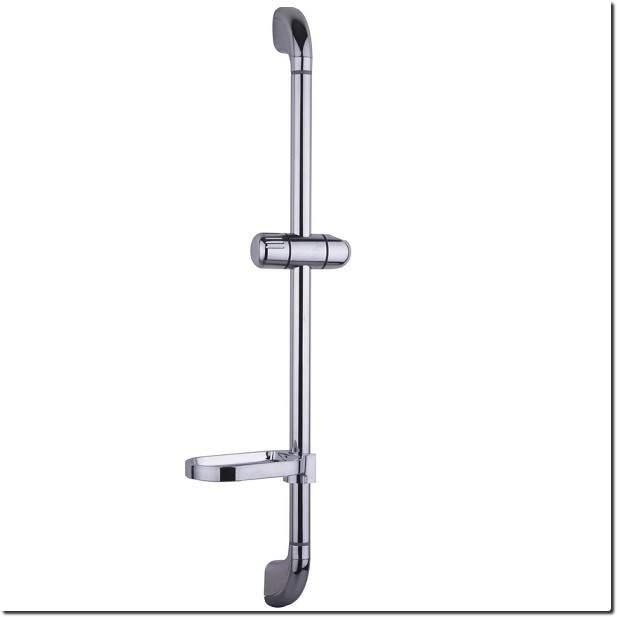 Barre de douche sans douchette ni flexible