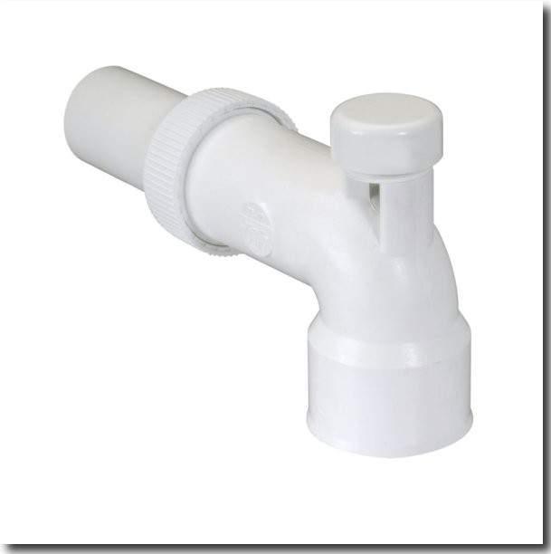 Sortie lavabo avec prise anti-vide