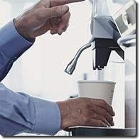 Filtre BRITA pour machine à café et boisson chaude