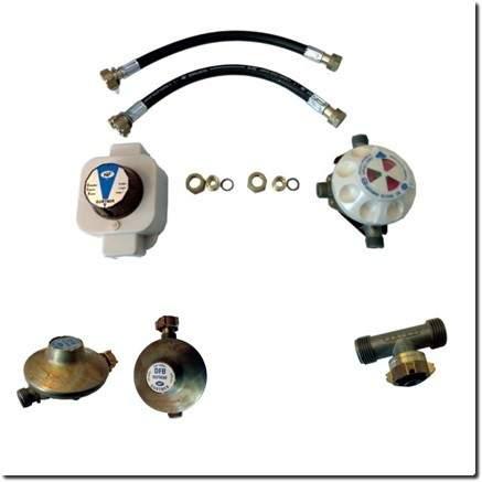 Accessoires pour gaz butane