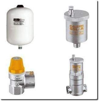 Accessoires pour chauffe-eau et chauffage solaire