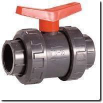 Vanne sphérique à coller PVC pression