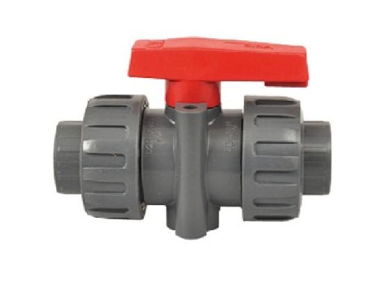 Vanne sphérique à coller PVC haute pression